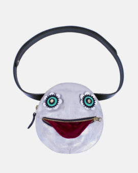 gobbler_bumbag_silver_rainbow_front