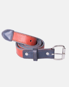 BELT-red-&-navy